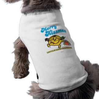 Merry Kissmas Pet Tshirt