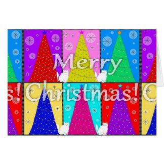 Merry Kitty Christmas Card