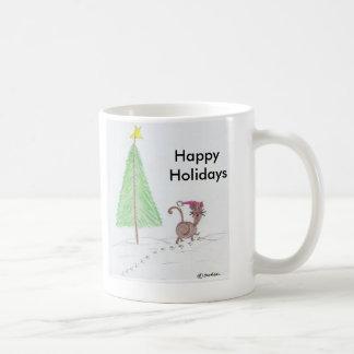 Merry Kitty Coffee Mug
