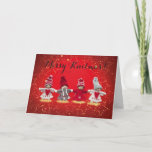 """Merry Knitmas card<br><div class=""""desc"""">Merry Knitmas! And A Crafty New Year. Great card for a knitter/crafter.</div>"""