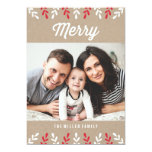 Merry Kraft | Holiday Photo Card