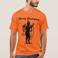 Merry Krampus! Tee. Funny Christmas T-Shirt