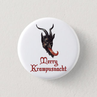 Merry Krampusnacht Button