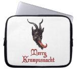 Merry Krampusnacht Laptop Sleeve