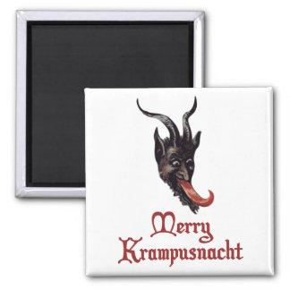 Merry Krampusnacht Fridge Magnets