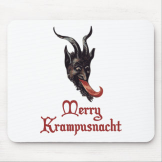 Merry Krampusnacht Mouse Pad