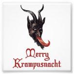 Merry Krampusnacht Photo Print