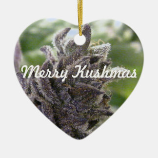 Merry Kushmas Christmas Tree Ornaments