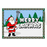 Merry Laxmas Lacrosse Cards!