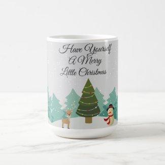 Merry Little Christmas Coffee Mug