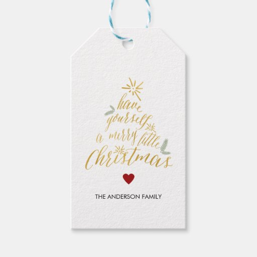 Merry Little Christmas Gift Tags...