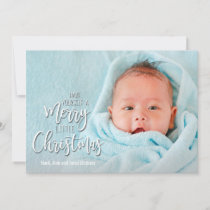 Merry Little Christmas Holiday Photo Cards