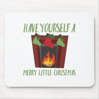 Merry Little Christmas Mouse Pad
