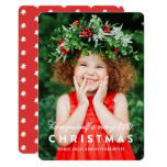 Merry Little Christmas Overlay | Photo Card