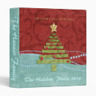 Merry Little Christmas Personalized Photo Binder