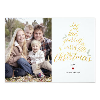 Merry Little Christmas - Photo Card