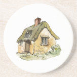 Merry Little Cottage Coaster