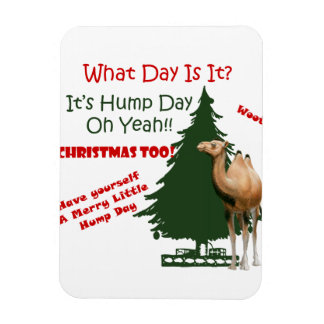 Merry Little Hump Day Christmas Magnet