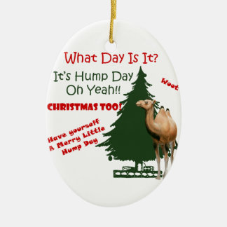 Merry Little Hump Day Christmas Christmas Ornaments