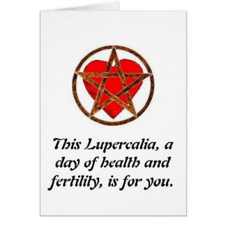Merry Lupercalia Card