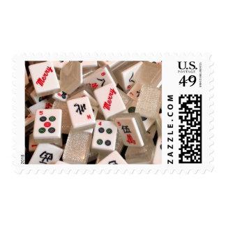 MERRY Mah Jongg Tile Stamp (Medium)