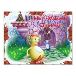 Merry Malamite Christmas! Card