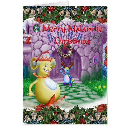 Merry Malamite Christmas! Greeting Card