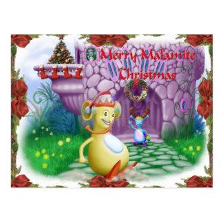 Merry Malamite Christmas! Postcard