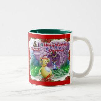 Merry Malamite Christmas! Two-Tone Coffee Mug