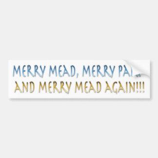 Merry Mead Bumper Sticker