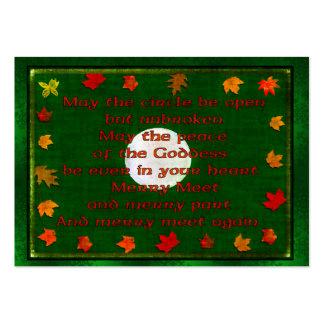 Merry Meet Business Cards