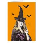 Merry Meet witch card