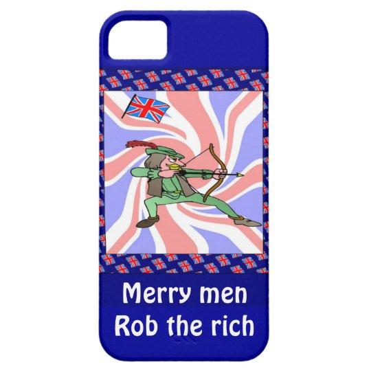 Merry men rob the rich iPhone SE/5/5s case