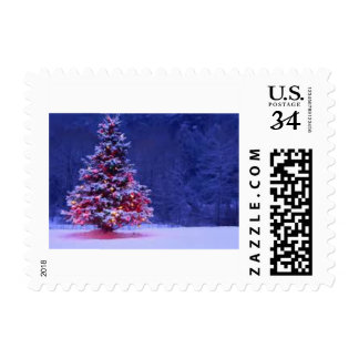 Merry, Merry Christmas postage stamps