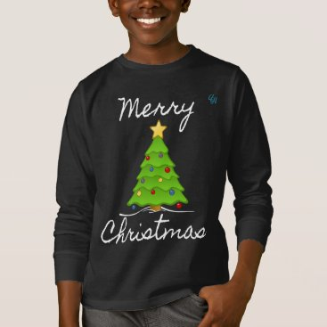 Christmas Themed Merry Merry Christmas Tree T-Shirt