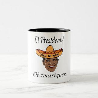 Merry Mex Two-Tone Coffee Mug