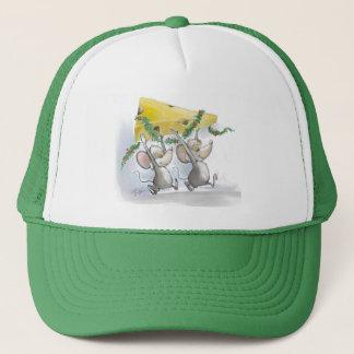 Merry Mice Mic & Mac Holiday Hat