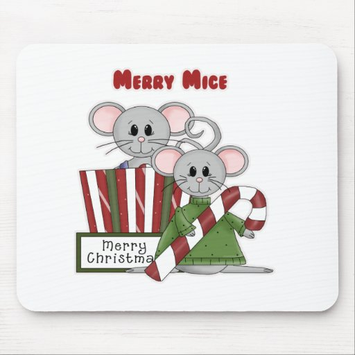 Merry Mice Mouse Pads