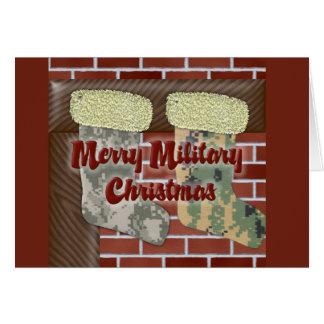 Merry Military Christmas Card