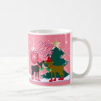 Merry Min Pins mug