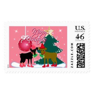 Merry Min Pins stamp