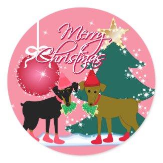 Merry Min Pins sticker