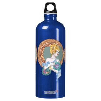 Merry Minuet/Fanatic's Fan Dance Aluminum Water Bottle