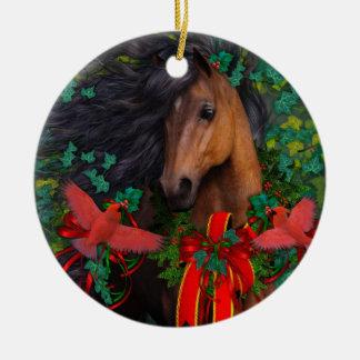 Merry Morgan Ornament