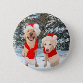 Merry Moses & Myrtie Pinback Button