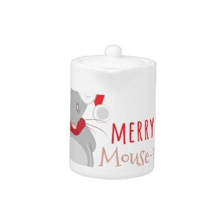 Merry Mouse-mas Teapot
