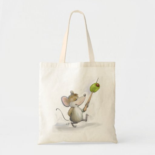 Merry Mouse Moe with Olive Bag