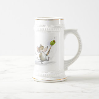 Merry Mouse Moe with Olive Beer Stein