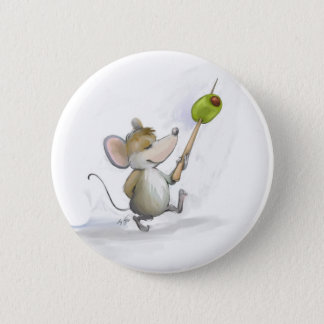 Merry Mouse Moe with Olive Button
