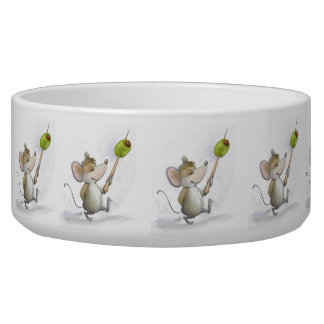 Merry Mouse Moe with Olive Deli Pet Bowl